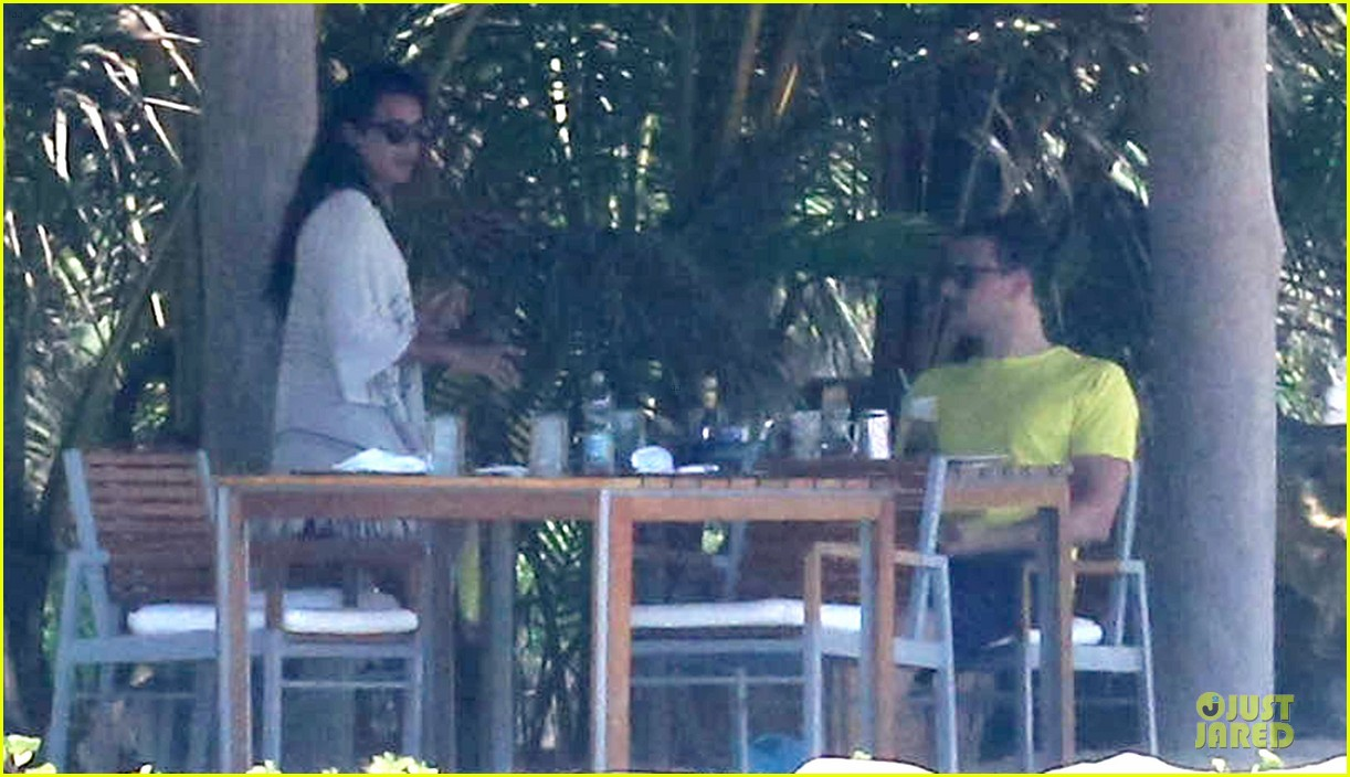 lea michele cory monteith beach lunch in mexico 222866200