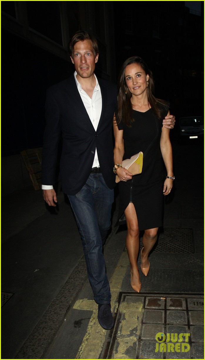pippa middleton beau party with brother james middleton 012876074