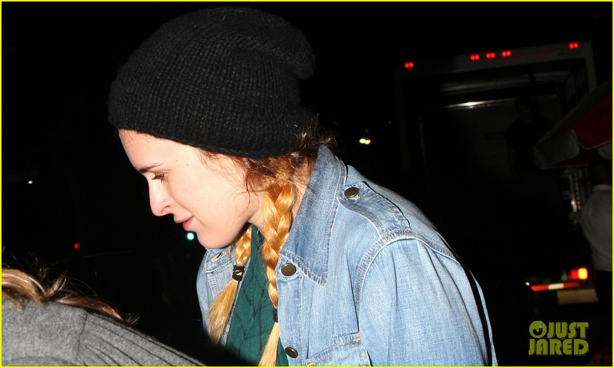 demi moore rumer willis leave el ray theater together 012867915