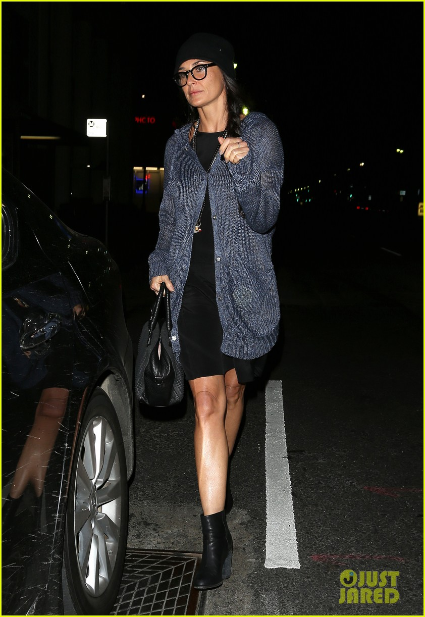 demi moore rumer willis leave el ray theater together 042867918