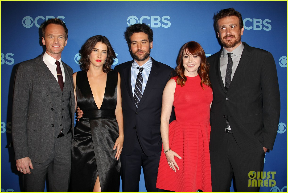 how i met your mother big bang theory casts cbs upfront 2013 032871395