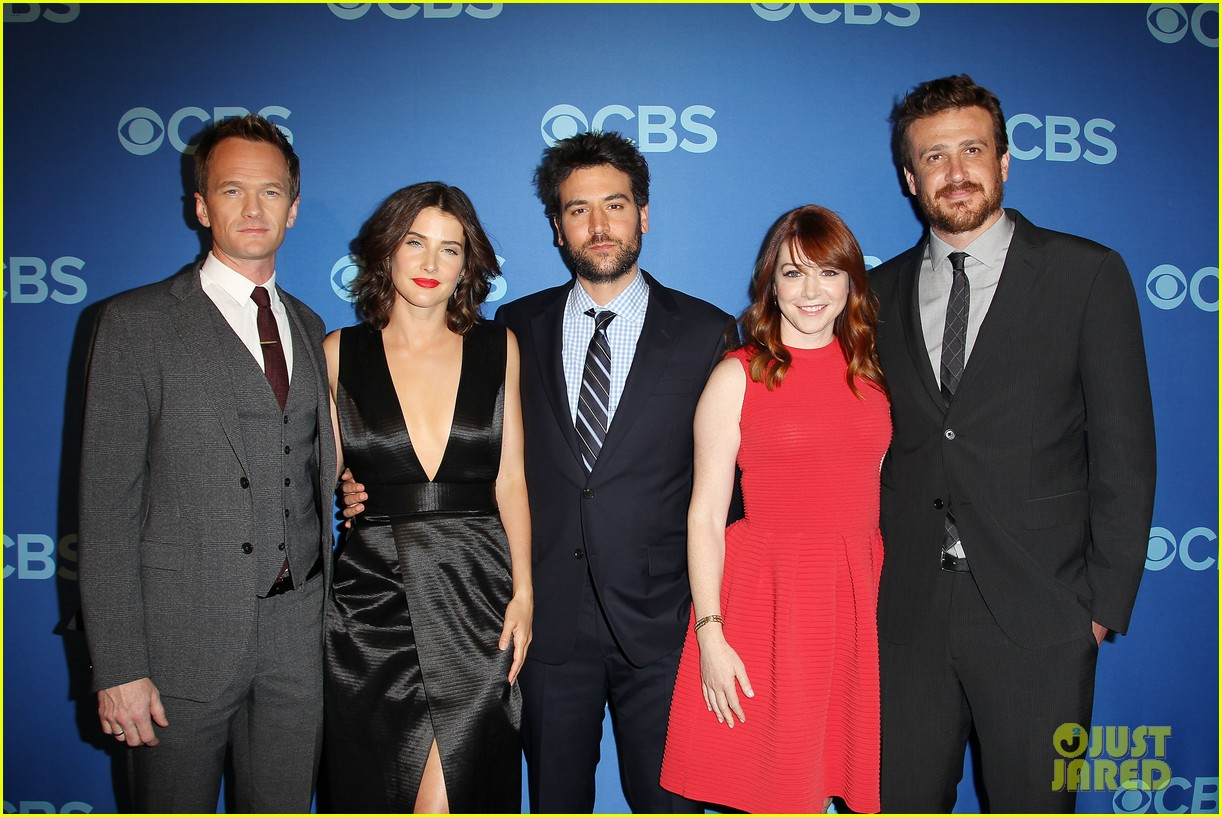 how i met your mother big bang theory casts cbs upfront 2013 172871409