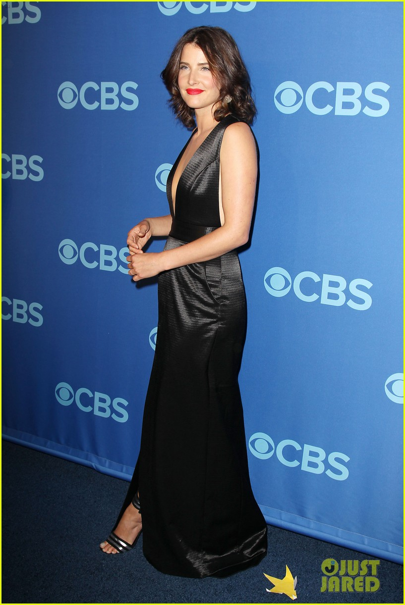 how i met your mother big bang theory casts cbs upfront 2013 232871415