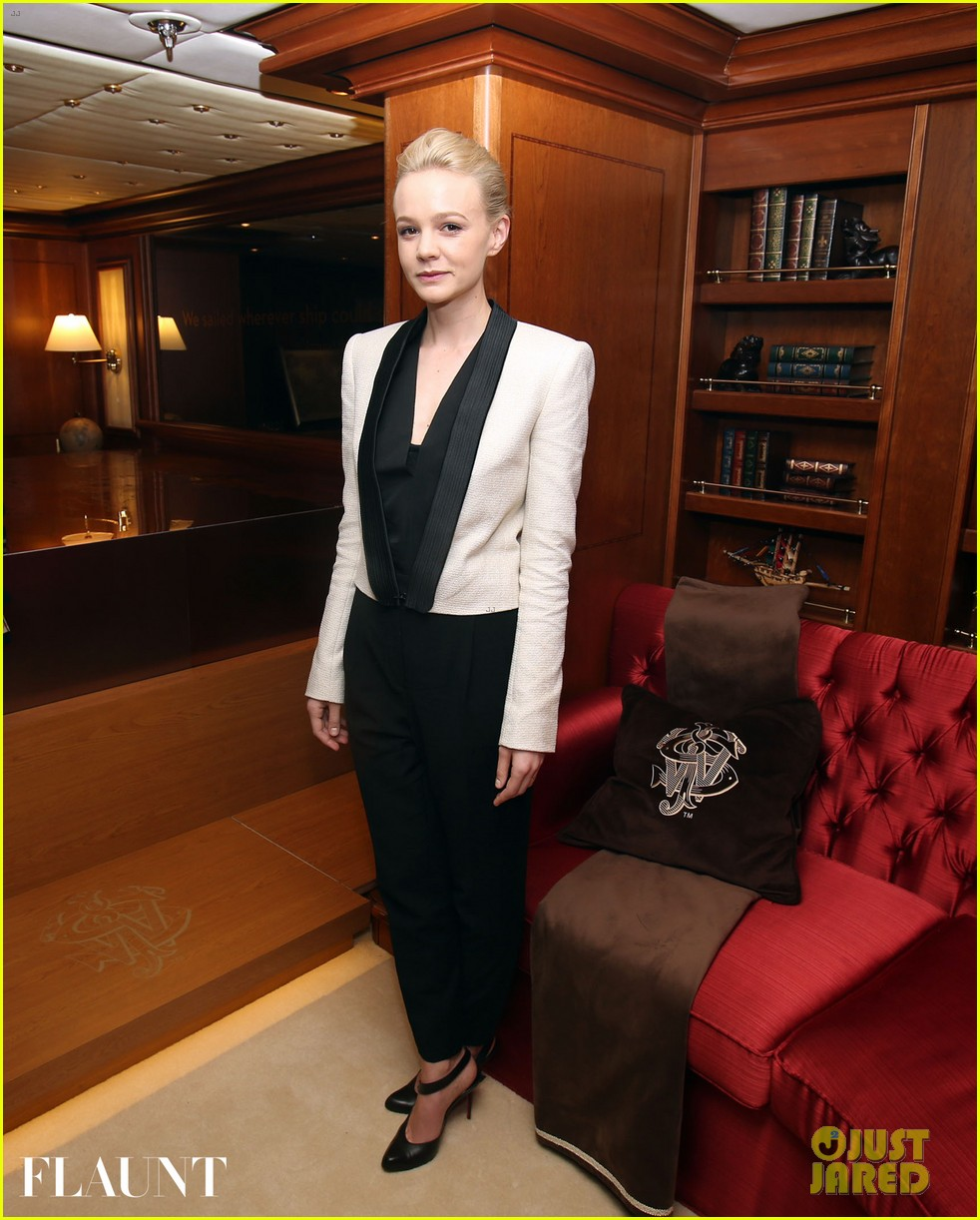 carey mulligan repeats outfit at flaunt party in cannes 012874415