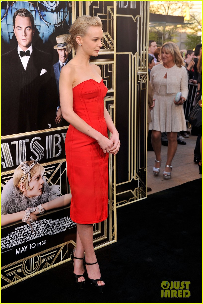 carey mulligan great gatsby premiere gma appearance 032862011