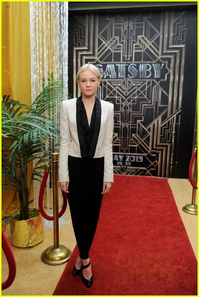 carey mulligan great gatsby premiere gma appearance 052862013