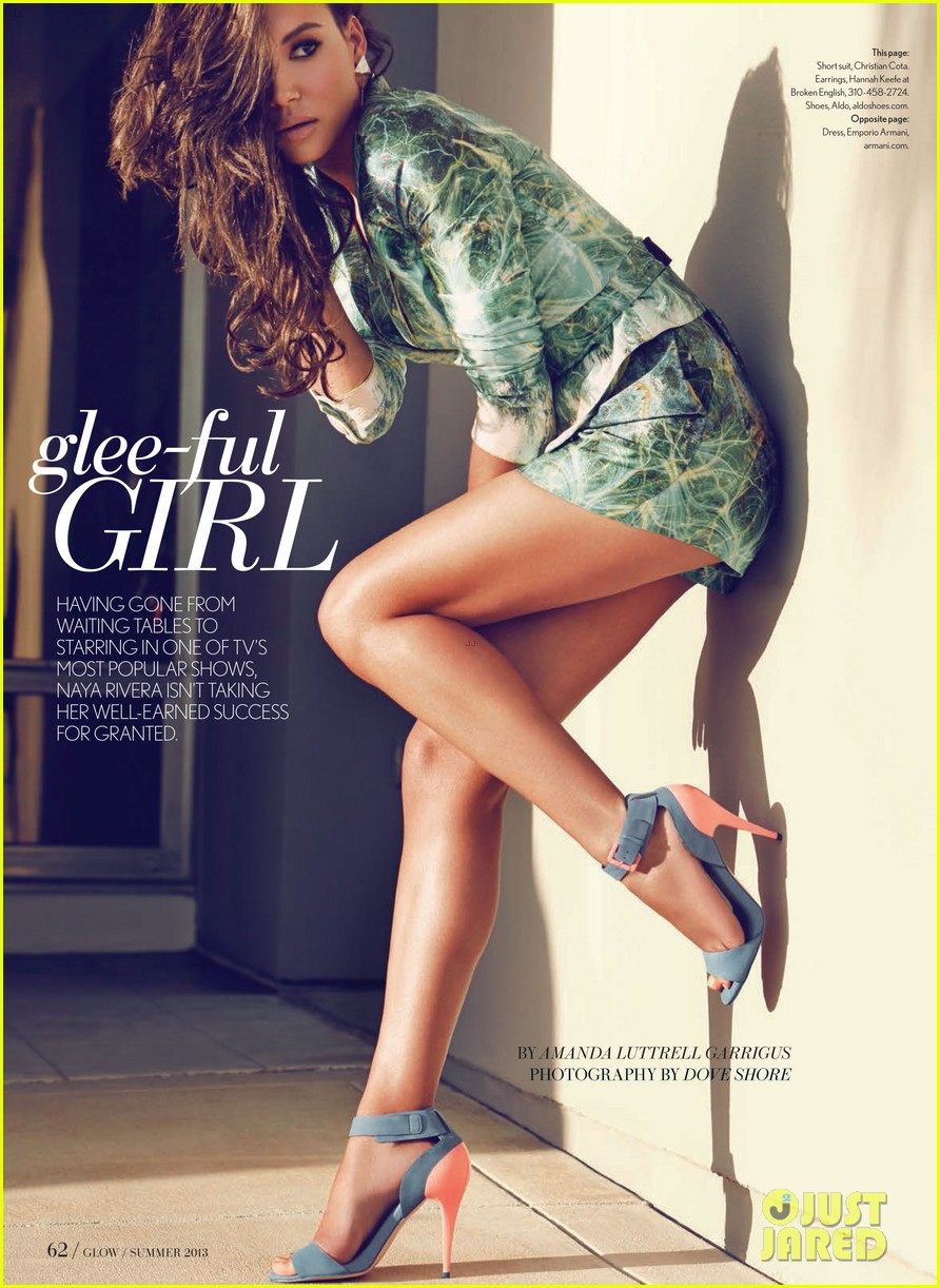 naya rivera glow summer 2013 cover girl 012880664