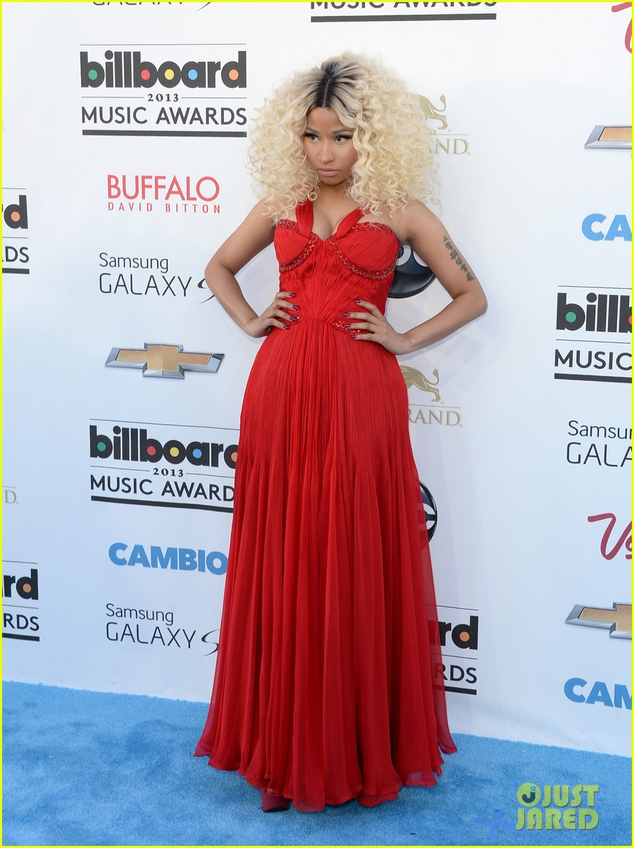 nicki minaj billboard music awards 2013 red carpet 072874018