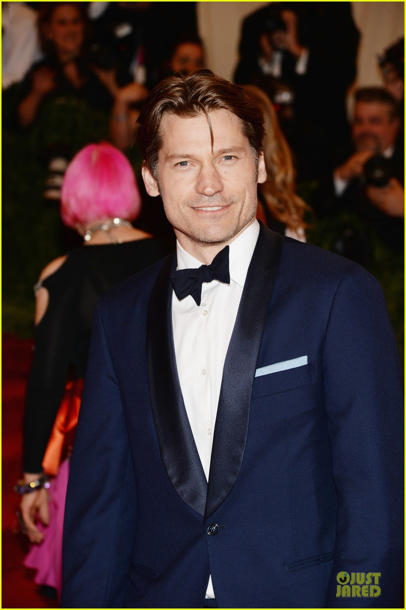 nikolaj coster waldau met ball 2013 red carpet 052865084