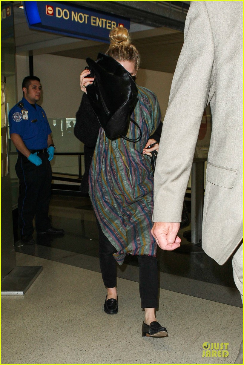 ashley olsen memorial day lax departure 07