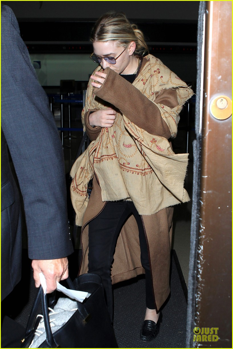ashley olsen shopping trip after lax arrival 032868587