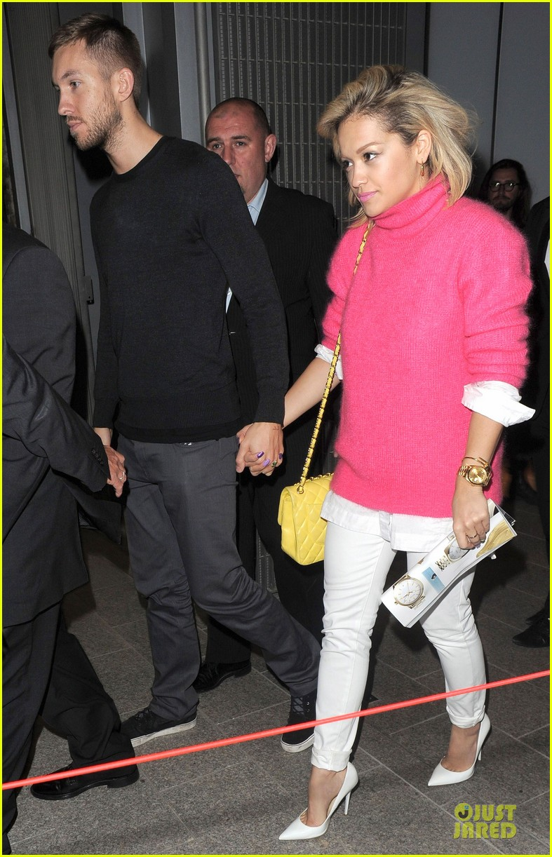 rita ora calvin harris daft punk listening party 092870005