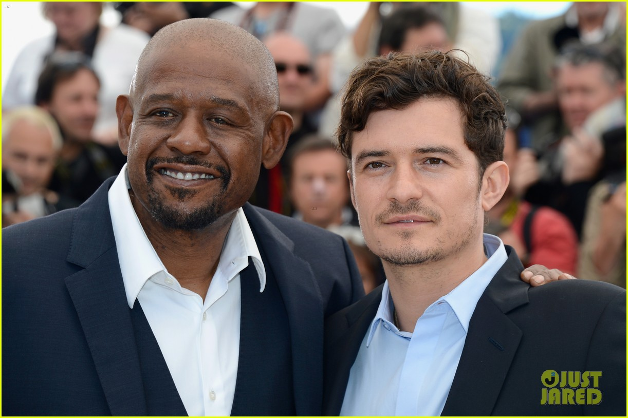 orlando bloom forest whitaker zulu photo call 11