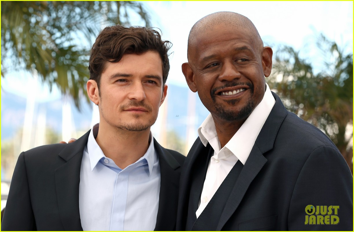 orlando bloom forest whitaker zulu photo call 132878368