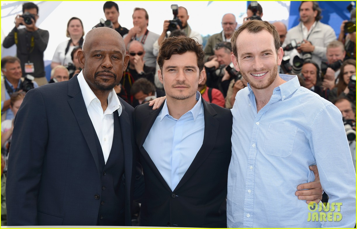 orlando bloom forest whitaker zulu photo call 152878370