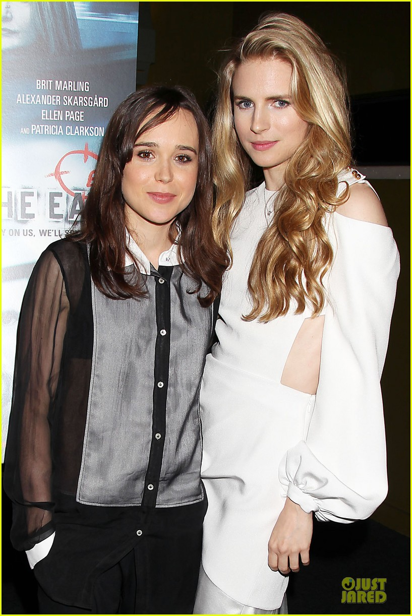 ellen page brit marling the east new york premiere 022875161