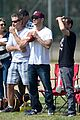 ryan phillippe abs flashing at deacon football game 06