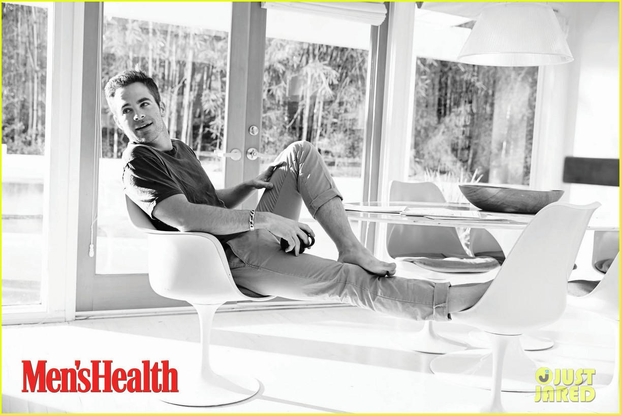 chris pine covers mens health june 2013 022869528