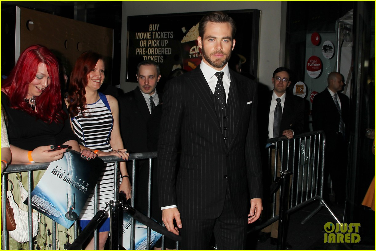 chris pine benedict cumberbatch star trek nyc screening 322867527
