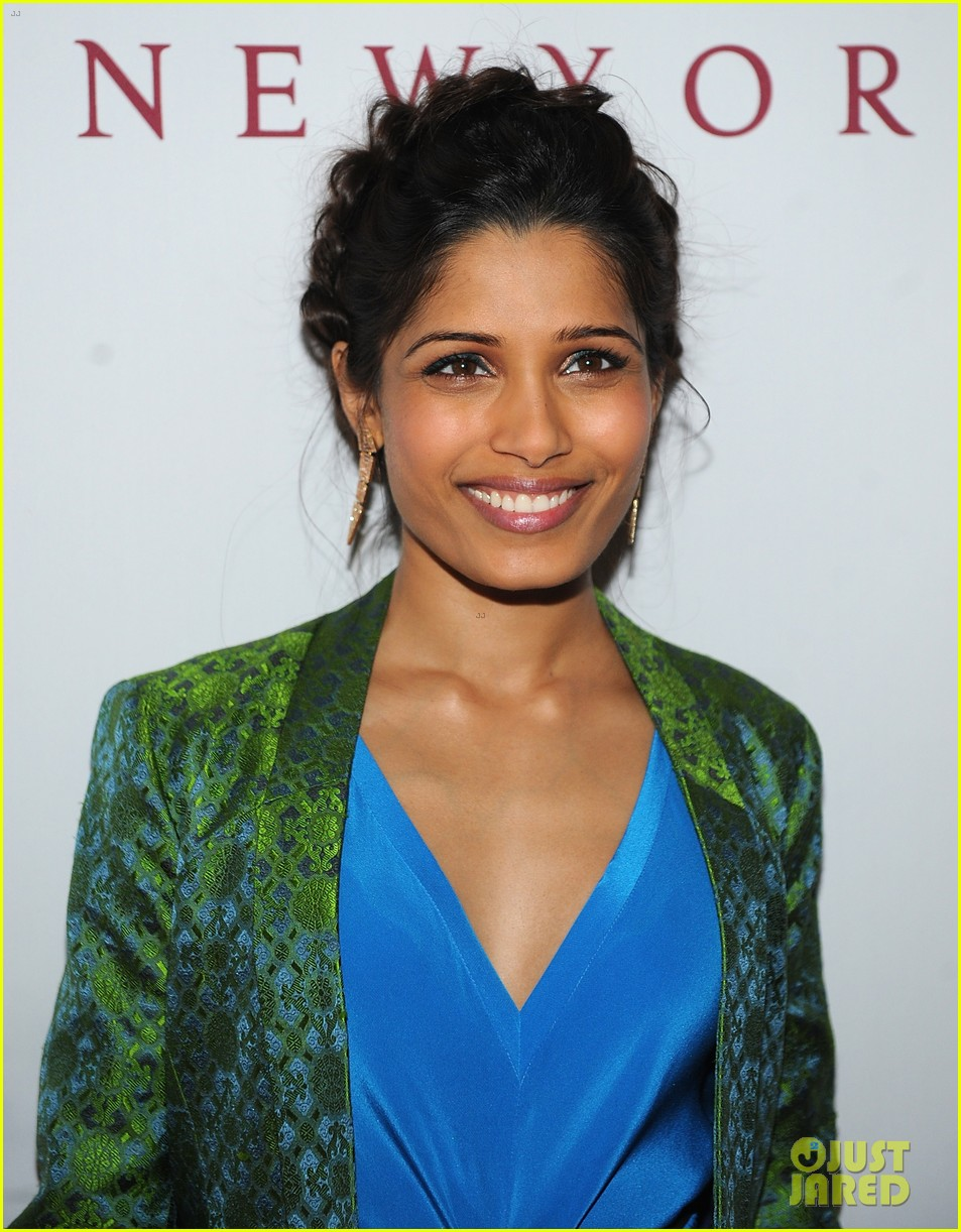 freida pinto maiyet varanasi silk capsule collection dinner 042867682
