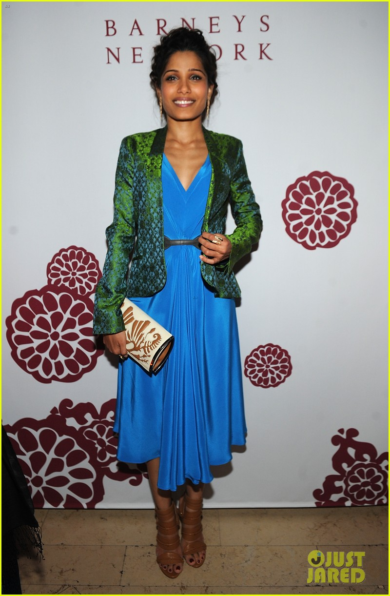 freida pinto maiyet varanasi silk capsule collection dinner 10