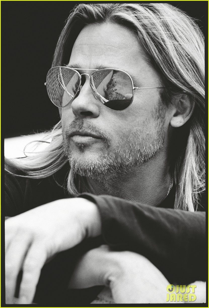 brad pitt to esquire i havent known life to be any happier 042875012