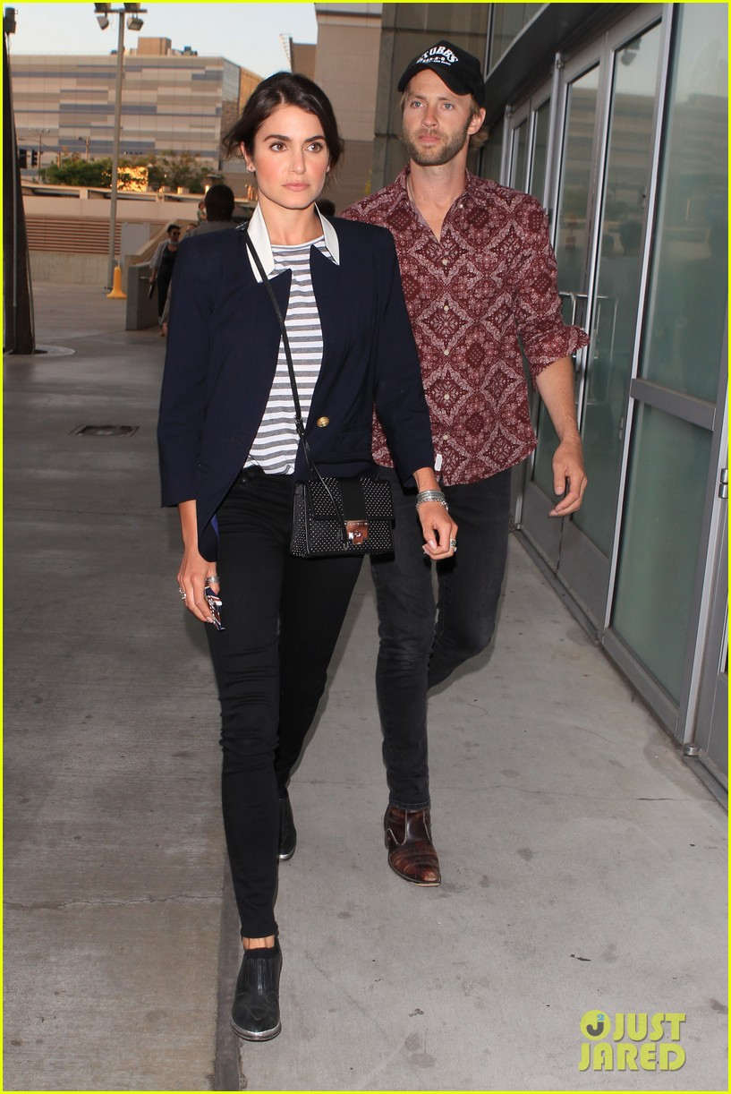 nikki reed paul mcdonald rolling stones concert couple 012864067