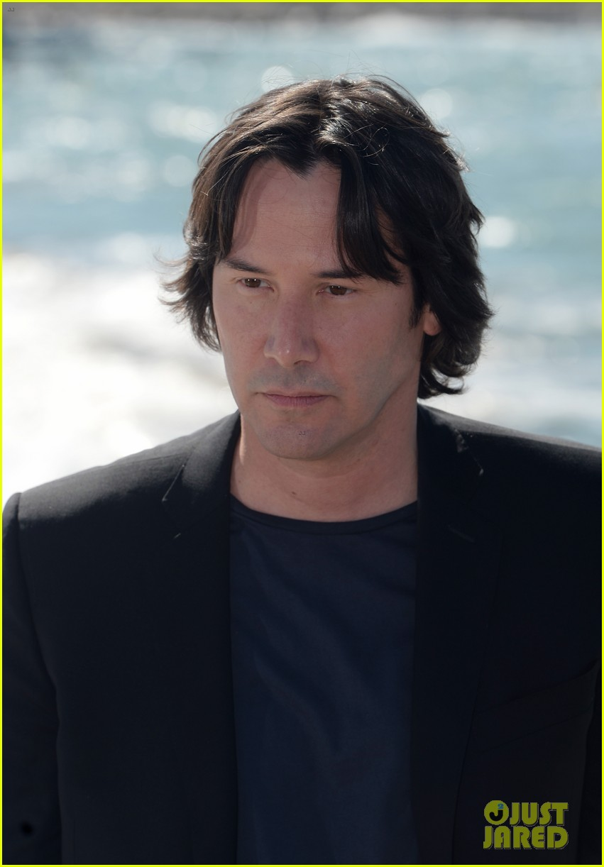 keanu reeves man of tai chi cannes photo call 082874745
