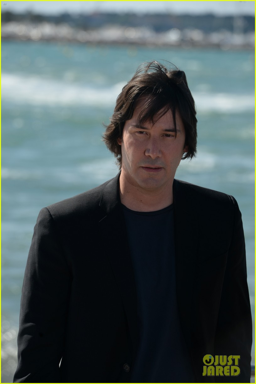 keanu reeves man of tai chi cannes photo call 092874746