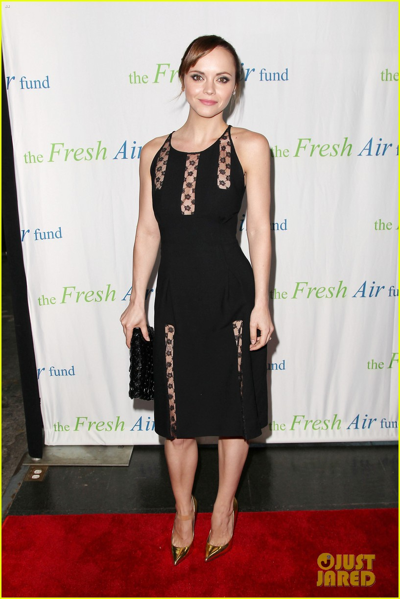 christina ricci fresh air fund event with victor cruz 012881069