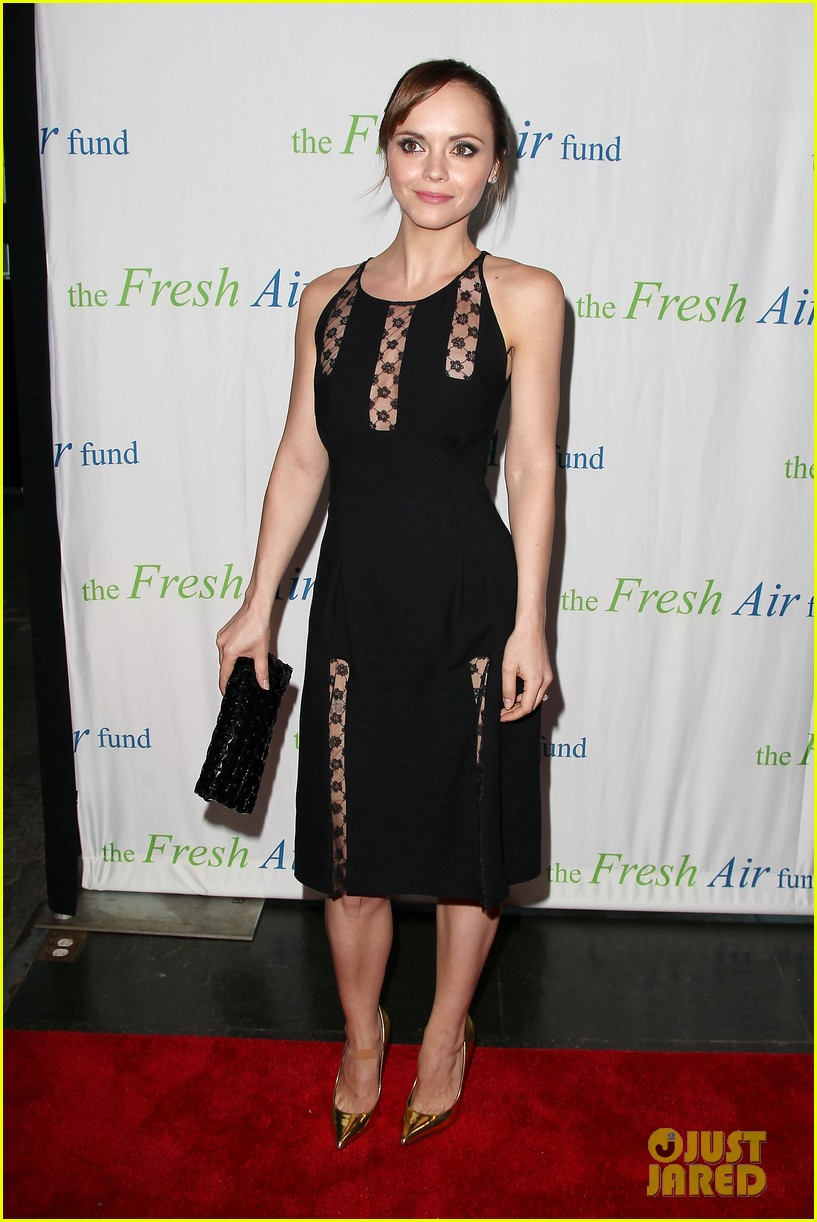 christina ricci fresh air fund event with victor cruz 062881074