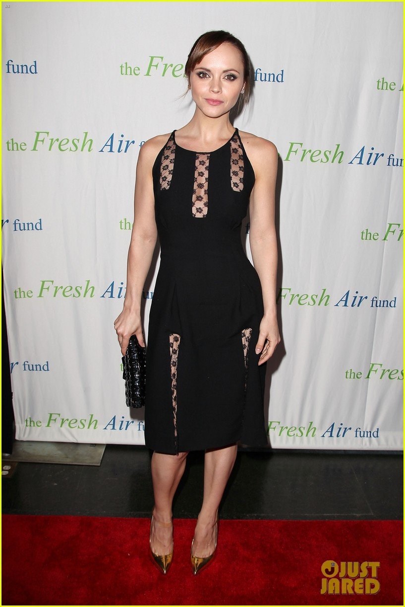 christina ricci fresh air fund event with victor cruz 072881075