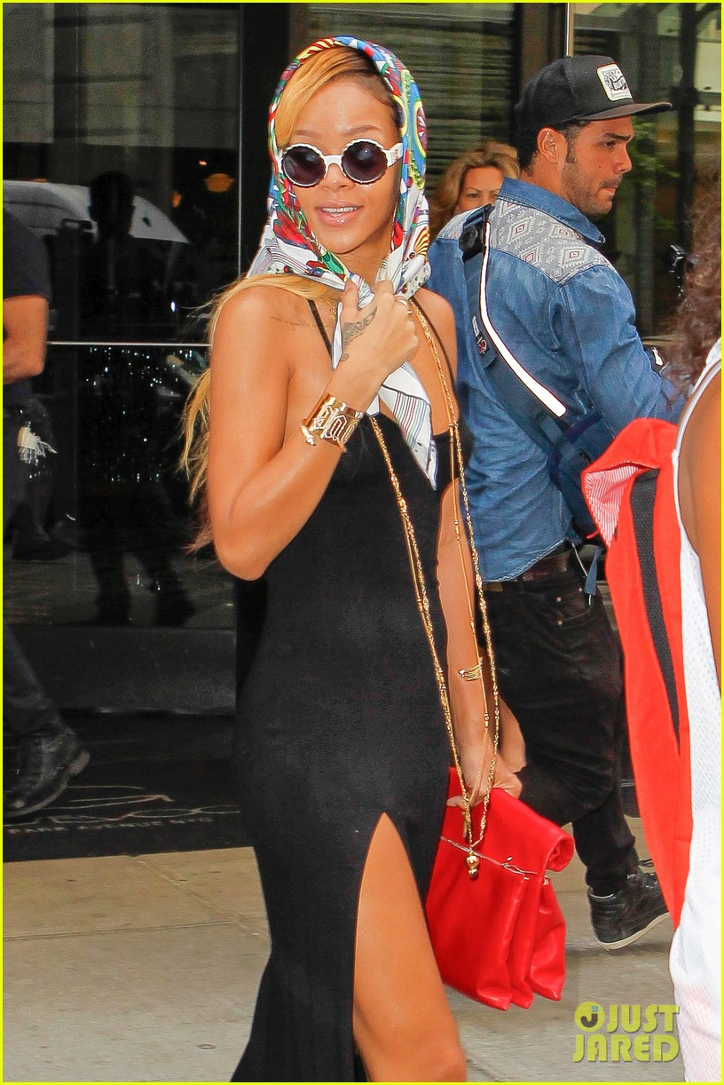 rihanna summer in de air in new york city 072872219