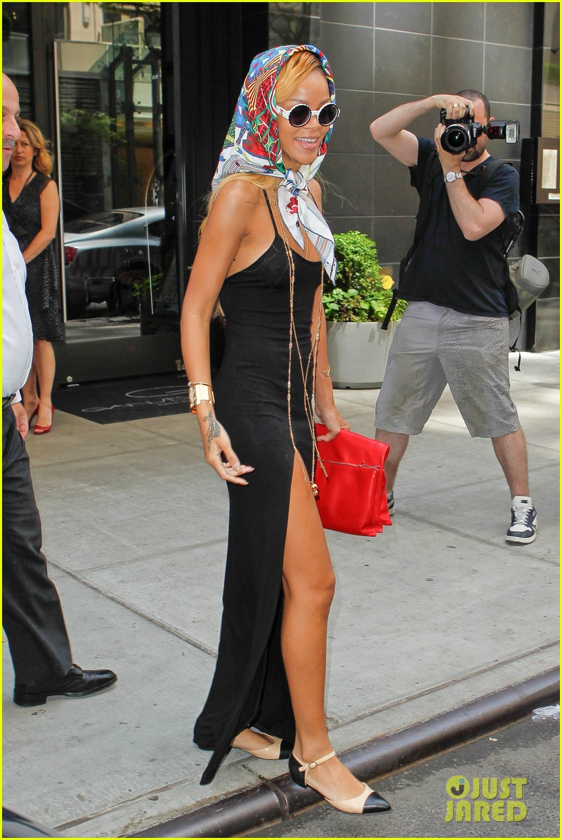 rihanna summer in de air in new york city 082872220