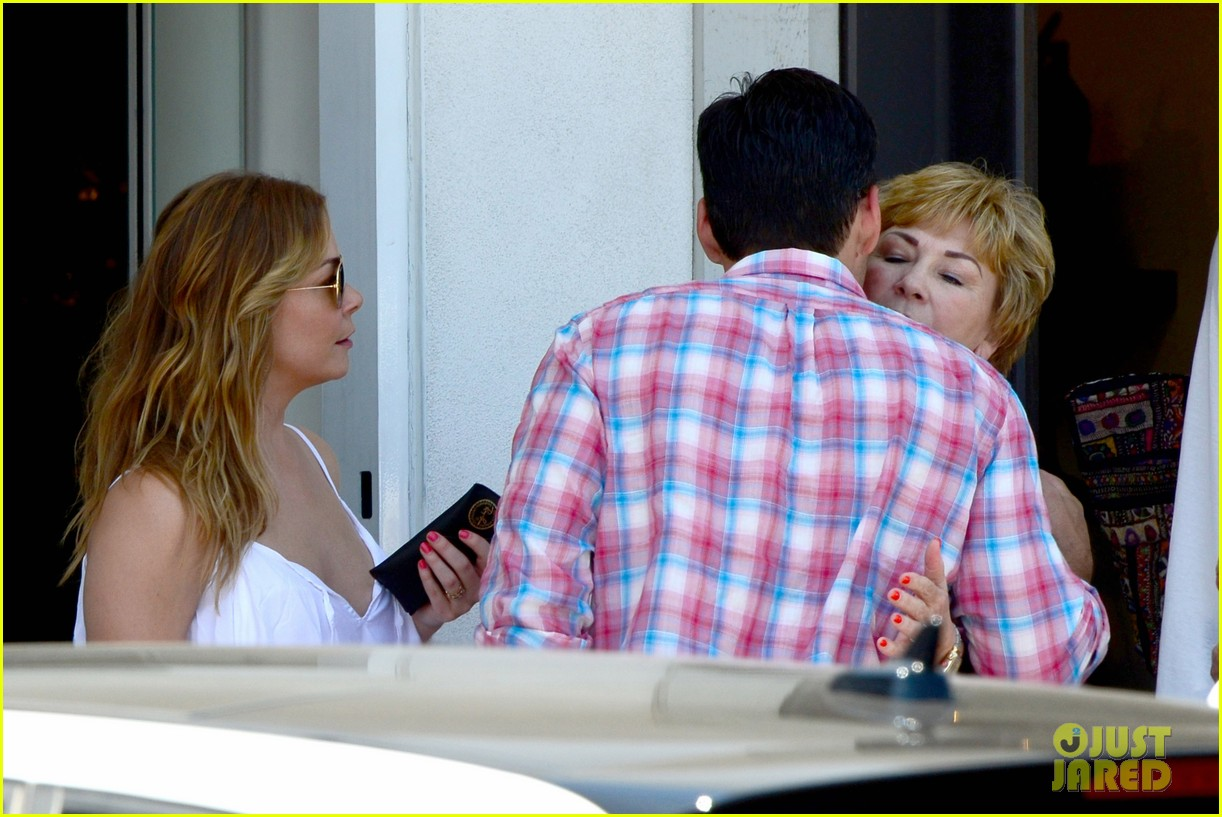 leann rimes eddie cibrian mothers day lunch parents 16