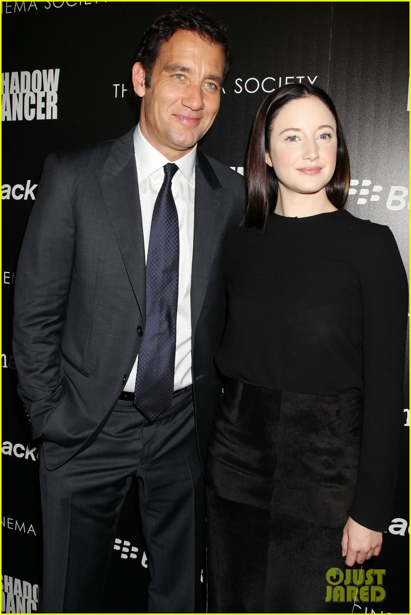 andrea riseborough clive owen shadow dancer screening 112880974