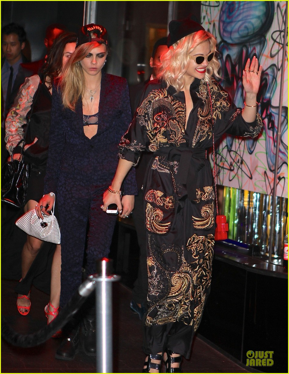 rita ora cara delevingne met ball 2013 after party 012866152