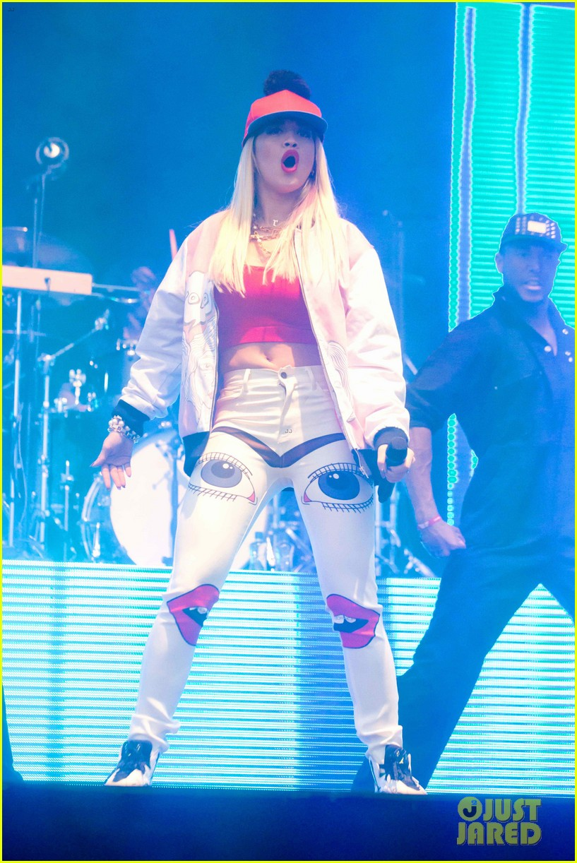 rita ora performs at as one in the park music festival 272878988