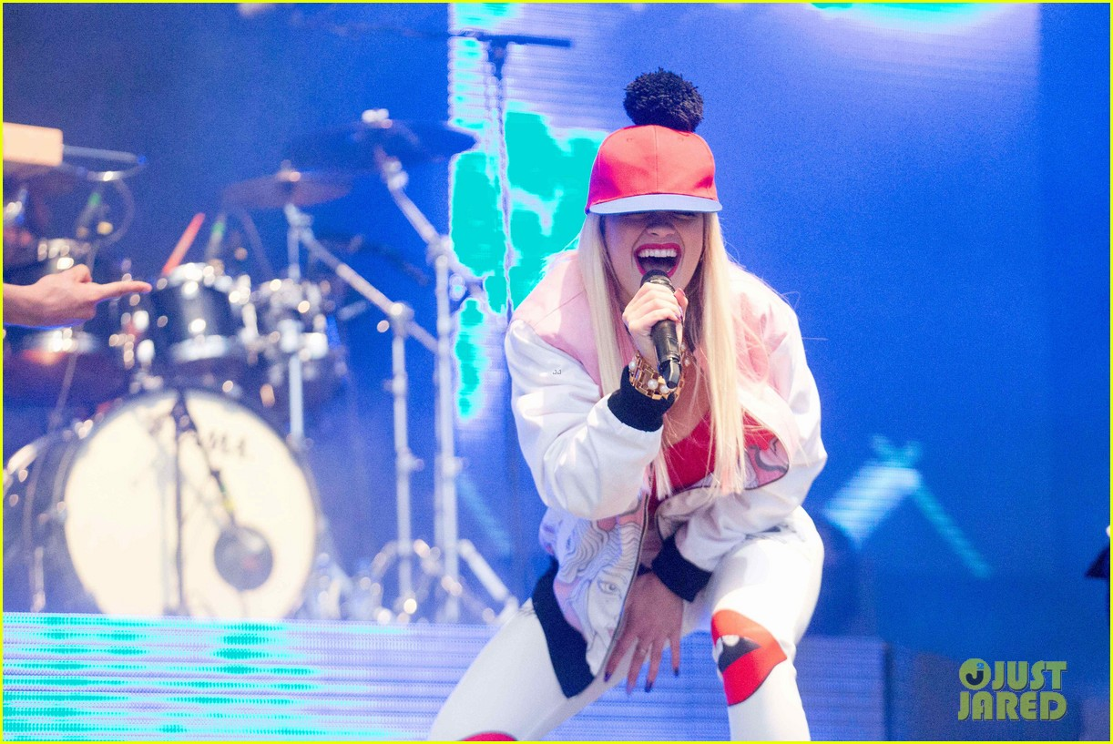 rita ora performs at as one in the park music festival 312878992