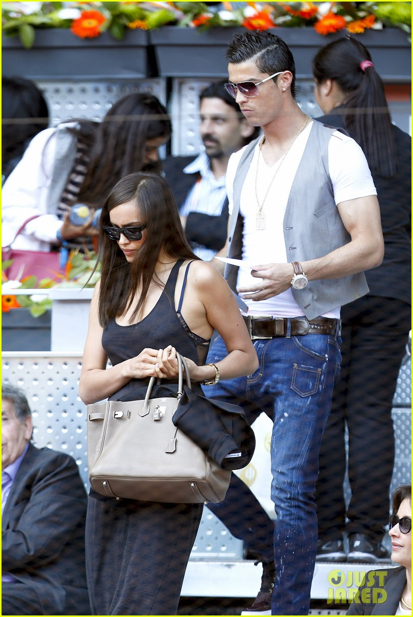 cristiano ronaldo irina shayk madrid open game after xti event 032867890