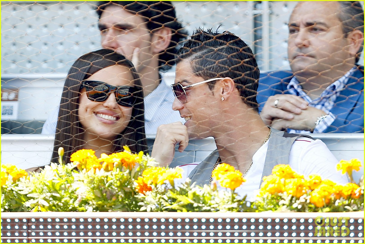 cristiano ronaldo irina shayk madrid open game after xti event 042867891