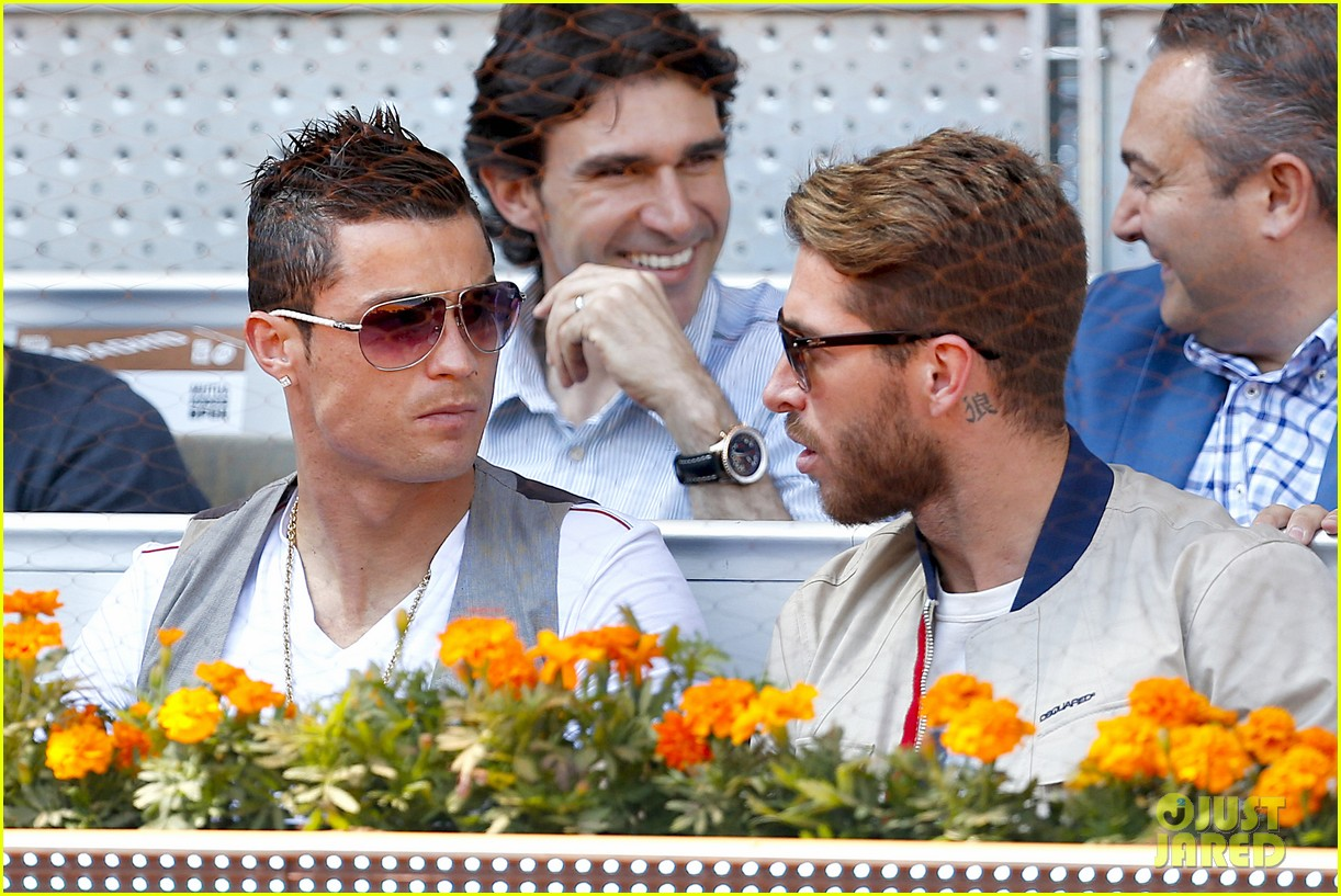 cristiano ronaldo irina shayk madrid open game after xti event 15