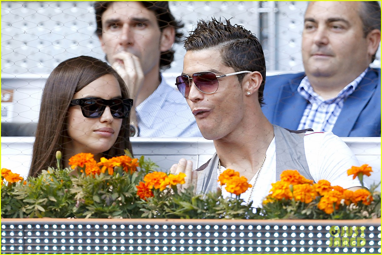 cristiano ronaldo irina shayk madrid open game after xti event 222867909