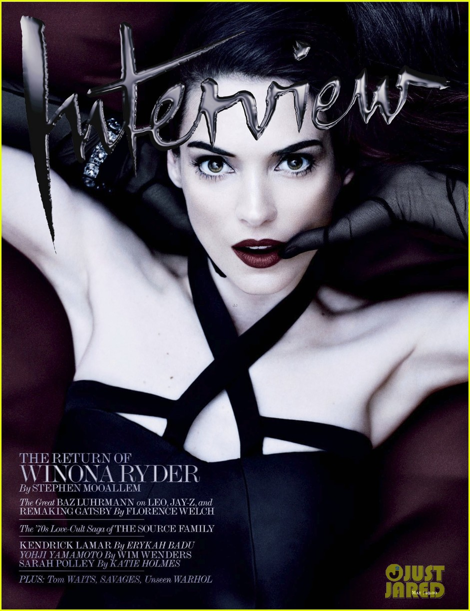 winona ryder covers interview magazine may 2013 022865817