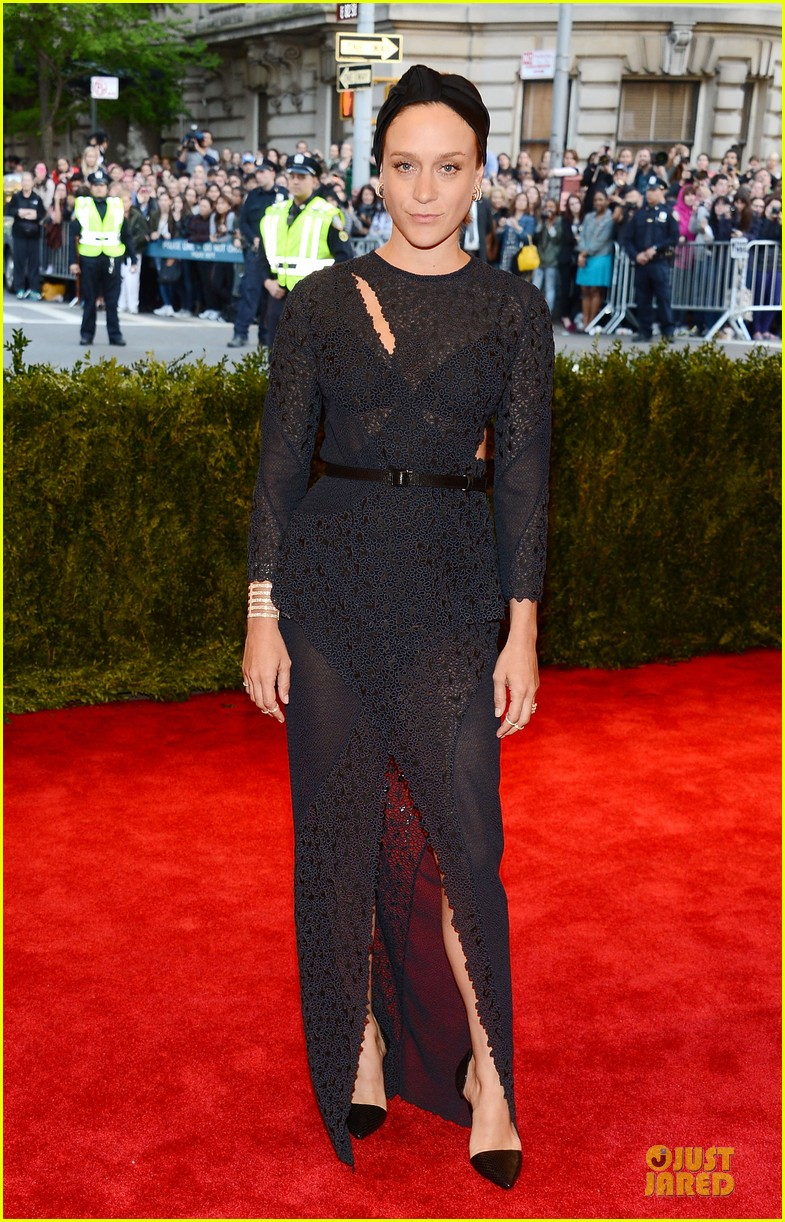 chloe sevigny met ball 2013 red carpet 062865773