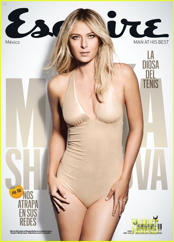 maria sharapova covers esquire latin america 082863549