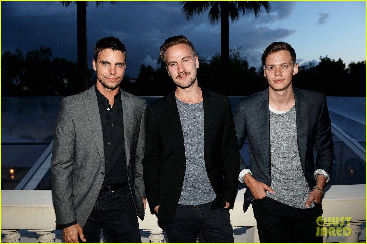 bill skarsgard colin egglesfield support rhinos at cannes 202873184
