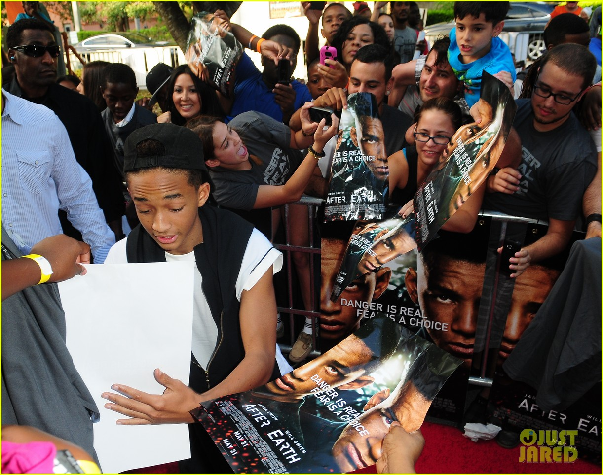 will jaden smith after earth day in miami 122872358