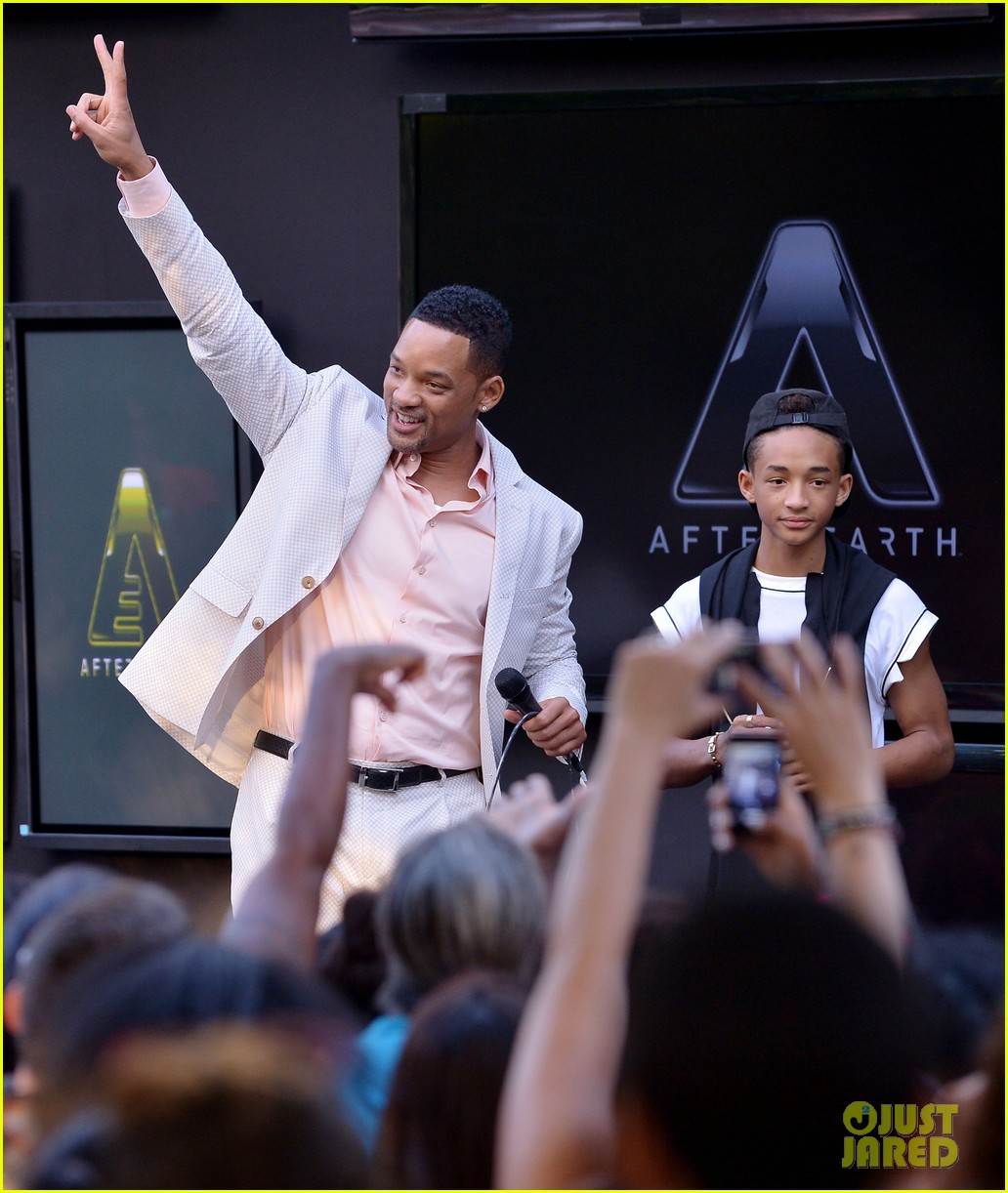 will jaden smith after earth day in miami 132872359
