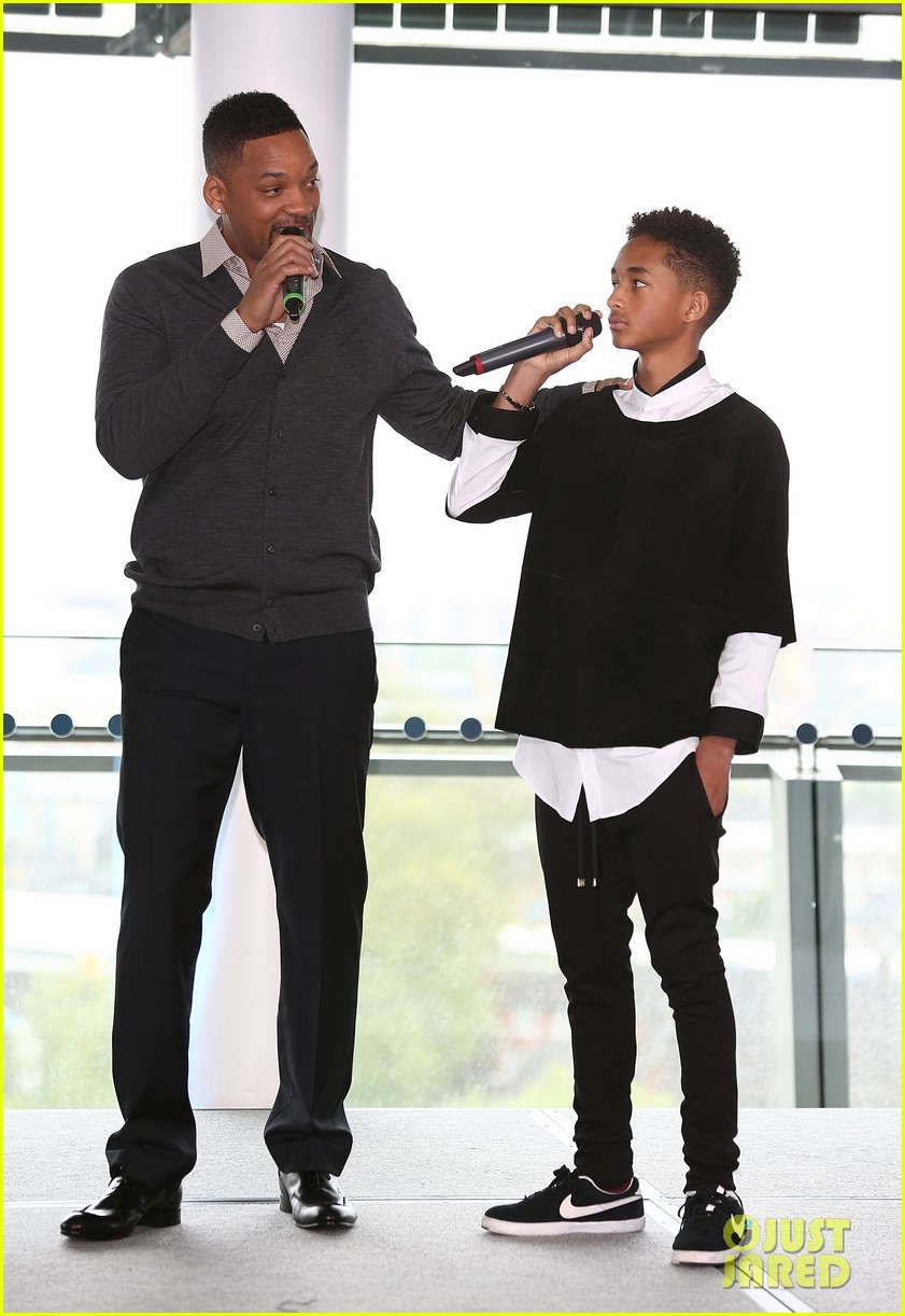 will smith cityhall celebration with jaden smith 032877464
